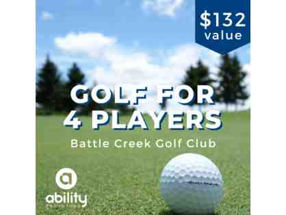 1 Round of Golf for 4 at Battle Creek Golf Club