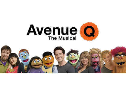 2 VIP Tickets to AVENUE Q with Exclusive Backstage Tour and Private Puppet Lesson