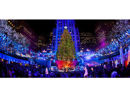VIP Experience at the Rockefeller Center Tree Lighting
