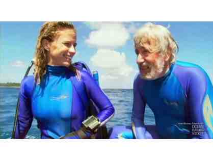Lunch and a Movie with Ocean Explorers Jean-Michel Cousteau and Holly Lohuis