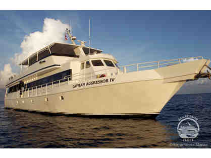 SCUBA diving trip aboard the luxury liveaboard vessel Cayman Aggressor