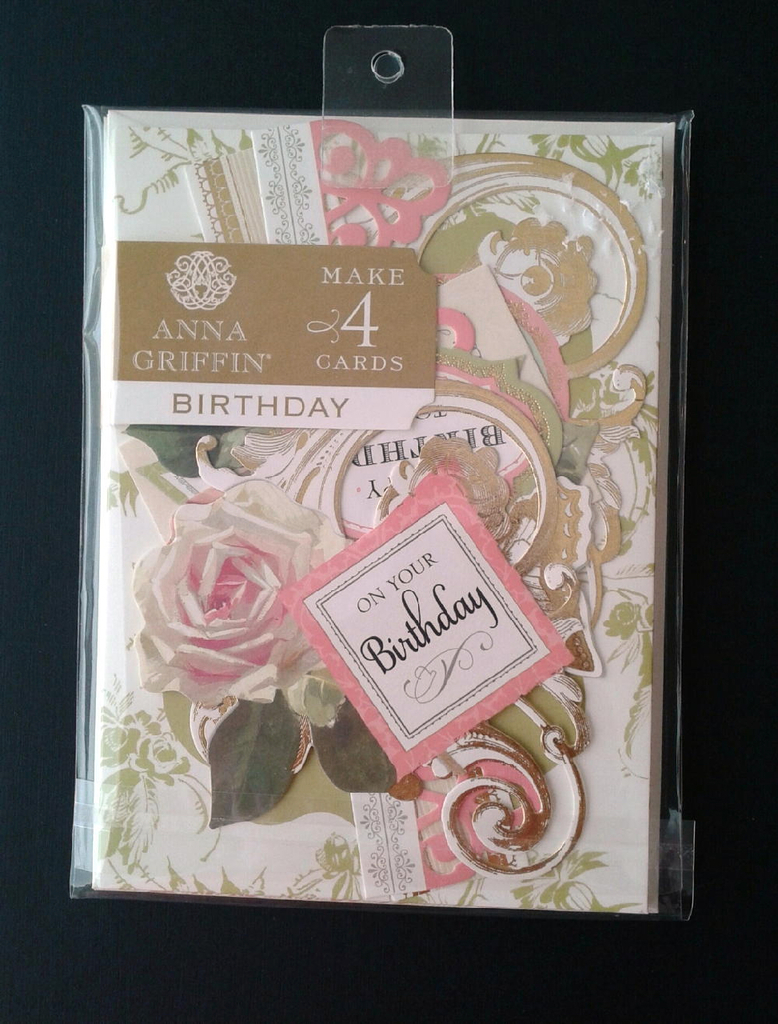 Birthday Card Making Kit New