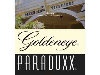 Napa Wine Experience for (2) at Duckhorn Vineyards, Paraduxx & Goldeneye.