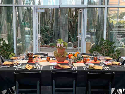 Private Dinner for 10 with Conservatory Tour