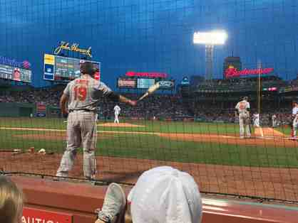 2 Red Sox versus White Sox tickets behind home plate for 6/25/19-VIP Package