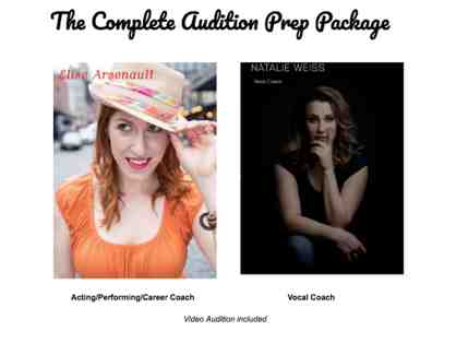 Ultimate Musical/Vocal Performer Audition Package