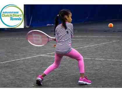 $400 discount on any program from Advantage QuickStart Tennis