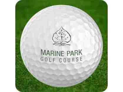 Marine Park Golf Course - Golf With Carts for 4
