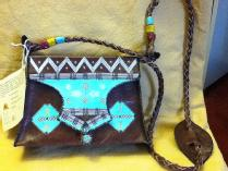 West African Leather Handbag