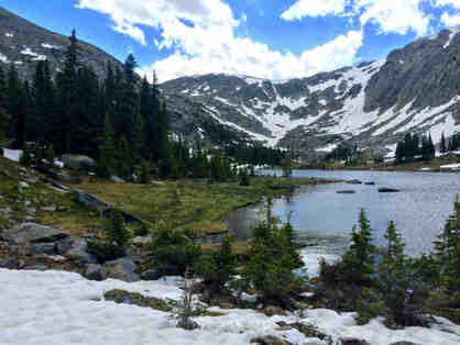Colorado Hiking Trip for 2: Rocky Mountain National Park (3 Day Hikes + Hot Springs Soak)
