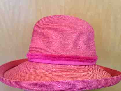 "Stunning Pink Hat in Box from ""Suzanne"" Couture Millinery"