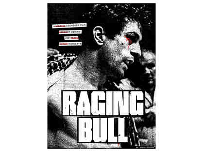 Very Rare RAGING BULL Screen Print Poster