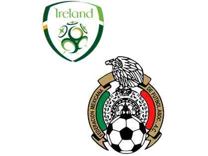 Four (4) tickets to Mexican National Team v Ireland National Team, Thursday, June 1, 2017