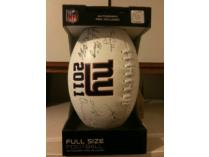 New York Giants 2011 Embossed Team Collector's Football