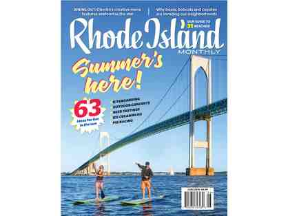 4 Rhode Island Monthly Best of RI Party Tickets & 1-Year Subscription