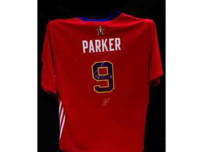 Autographed Tony Parker All-Star Jersey