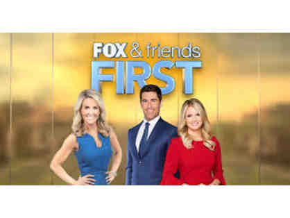 Tour of FOX & Friends First Set for 2 people!