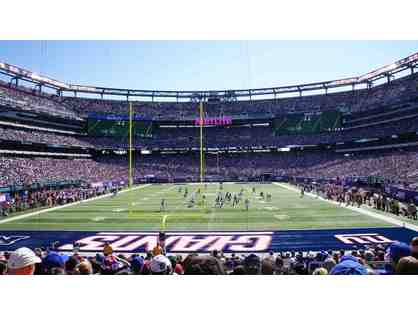 4 Lower Level Tickets (EXCELLENT SEATS) to a 2019 NY Giants Home Game with parking pass