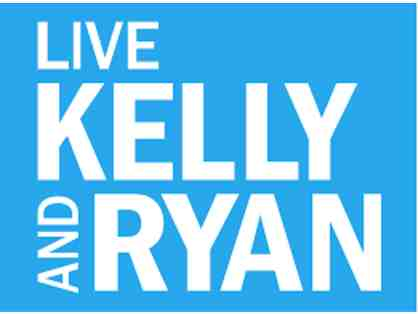 "2 VIP Tickets to See ""Live with Kelly and Ryan""!"