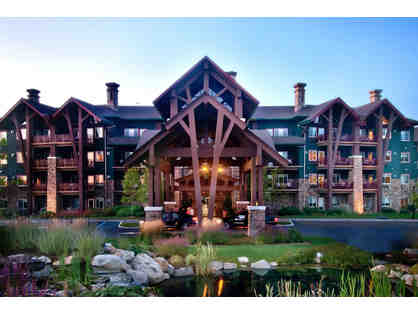 1 Night Stay Grand Cascades Lodge & Foursome at Crystal Springs (Any Course)