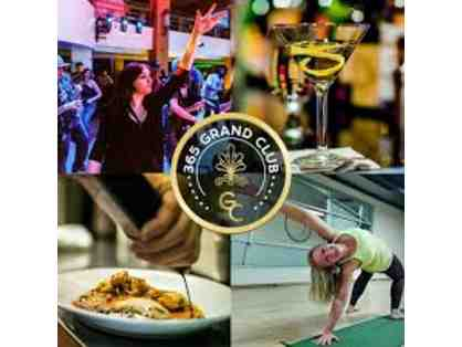 365 Grand Club Membership - Downtown Fitness clubs, dining discounts, shuttle & more