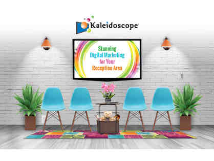 1 year Kaleidoscope Subscription (includes initial customization & 1 Kaleidoscope computer