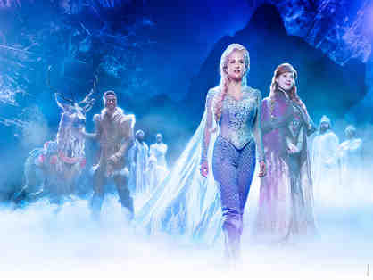 4 prime seats to Frozen Broadway Show with Backstage Tour