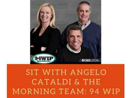 Sit with Angelo Cataldi & The Morning Team: 94 WIP