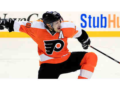 Flyers Pre-Game Meal with Danny Briere + Club Box Tickets