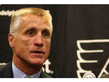 Flyers Pre-Game Meal with Paul Holmgren + Club Box Tickets