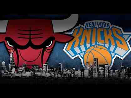 NY Knicks vs. Chicago Bulls - 2 Clubseats for April 4th at MSG
