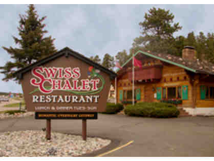 """Upstairs in the Swiss Chalet"" Cottage Stay & Dinner"
