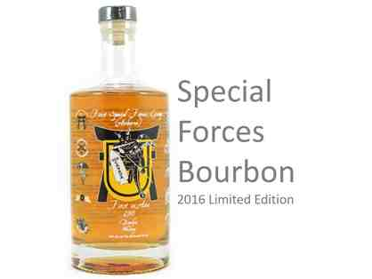 Bottle of Special Forces Bourbon - Limited Edition!