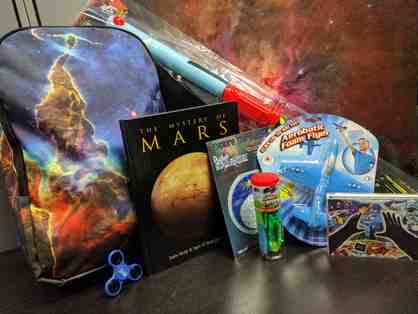 Galactic Adventure Backpack with Books and Toys