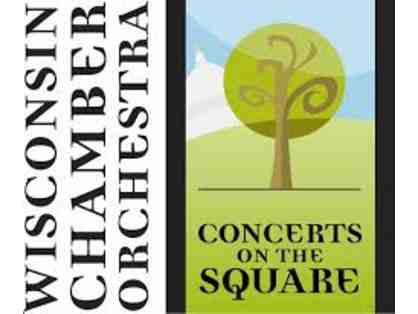 Table for 4 in the A Section for one of 2019 CONCERTS ON THE SQUARE!!!!