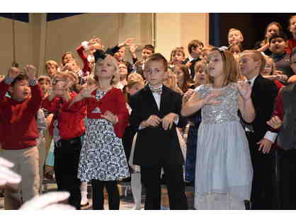 Front Row Kindergarten -5th grade for Christmas Concert