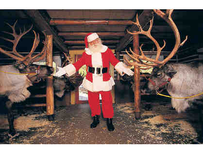 Admission for 4 People to Santa's Workshop, North Pole, NY.