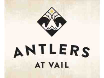 One Night Stay at Atlers at Vail