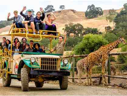 $250 Gift Certificate to Safari West - Classic Safari for Two Adults