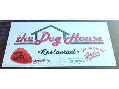 $50 Value - Lunch for 4 - The Dog House in Bodega Bay