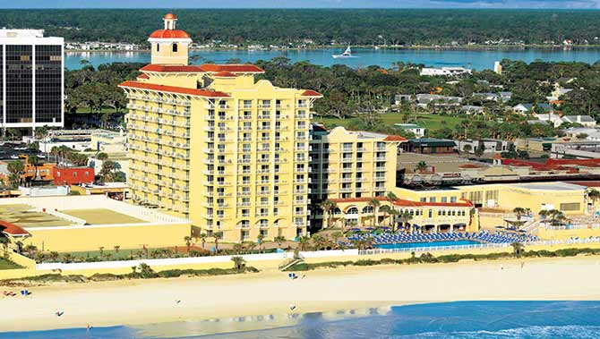 3 Days 2 Nights At The Plaza Historic Beach Resort Spa In Daytona Fl