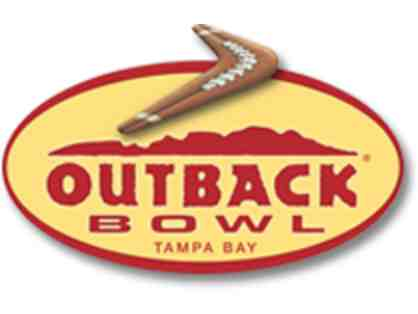 2 Tickets to the Outback Bowl at Raymond James Stadium