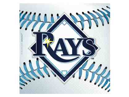 4 Premium Home Plate Club Tickets to the Tampa Bay Rays with Parking Passes