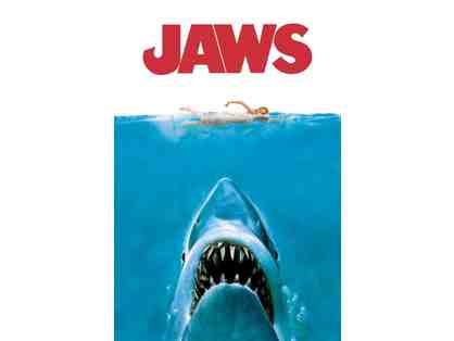 "Screening of ""Jaws"" and New England Clambake dinner for 2 at Stone Acres - July 18, 2019"