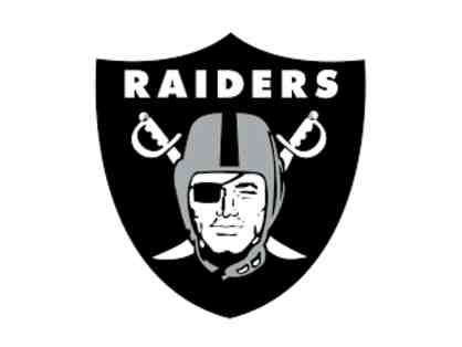 Oakland Raiders- 6 club seat tickets, pre-game field passes and more!