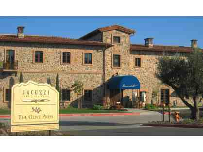 Wine Tasting for 4 at Jacuzzi Family Vineyards