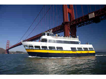 Two tickets for Blue & Gold Fleet's SF Bay Cruise