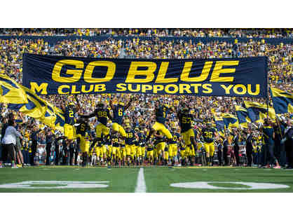 2 Tickets to 11-17-18 University of Michigan Football Game vs Indiana -50 Yard Line