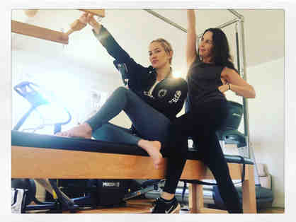 0h Fab! Pilates Workout With Kate Hudson and Celebrity Trainer Nicole Stuart!!!!