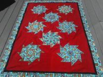 Homespun Masterpiece: Magnificent Handmade Cat Quilt